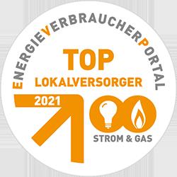 Auszeichnung Top-Loaklversorger 2021